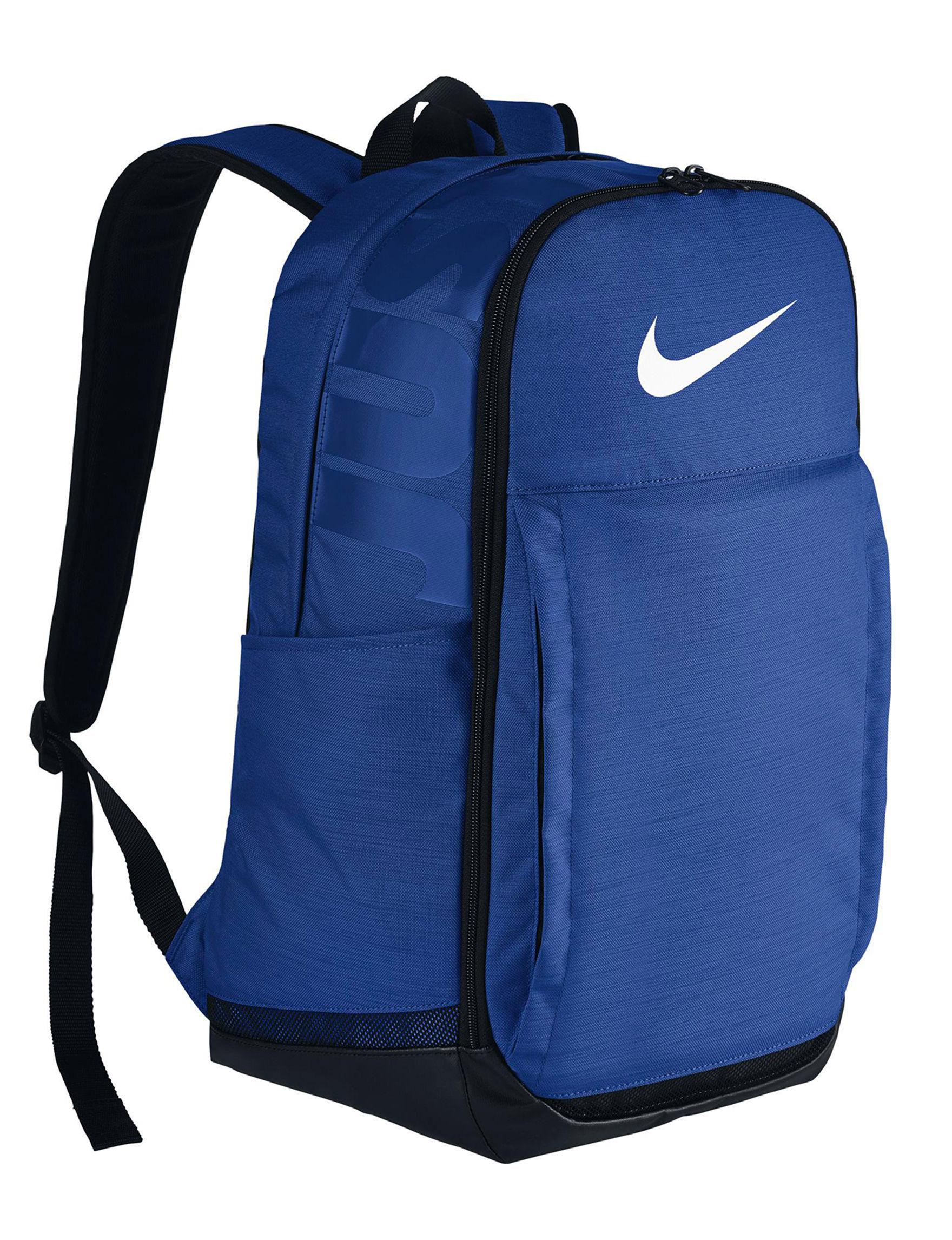 Nike Blue / White Bookbags & Backpacks