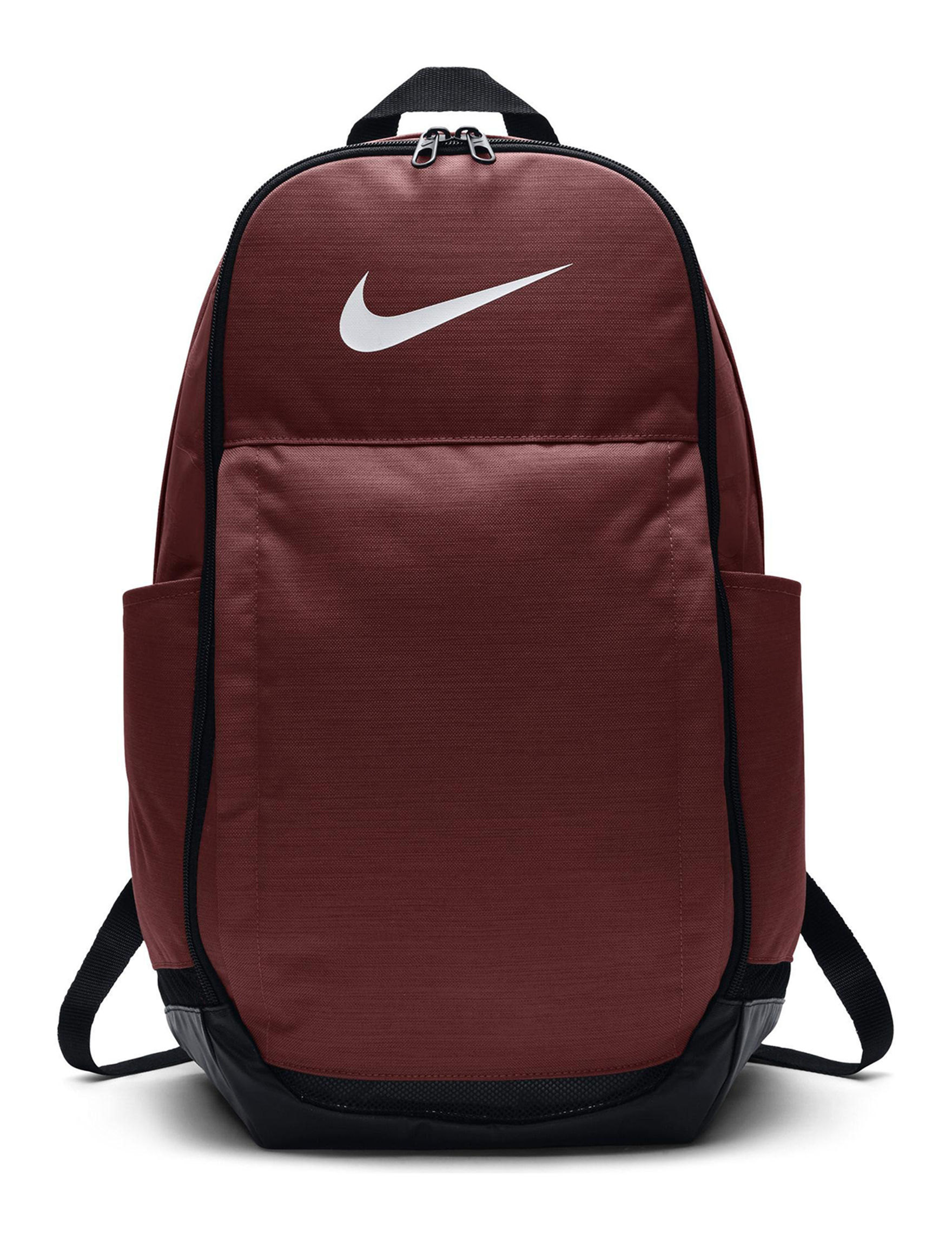 Nike Red / White Bookbags & Backpacks