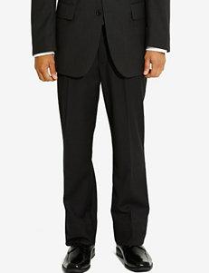 Arrow Black Herringbone Dress Pants