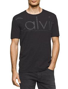 Calvin Klein Black Tees & Tanks