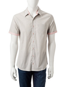 Signature Studio Multi Casual Button Down Shirts