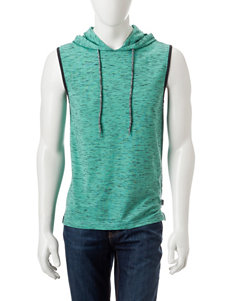 Ocean Current Spacedye Hooded Muscle Tank