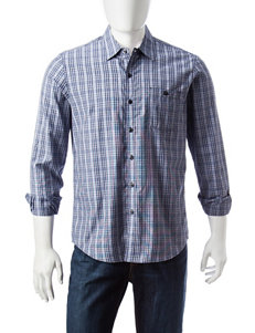Signature Studio Midnight Casual Button Down Shirts