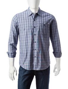 Signature Studio Midnight Casual Button Down Shirts