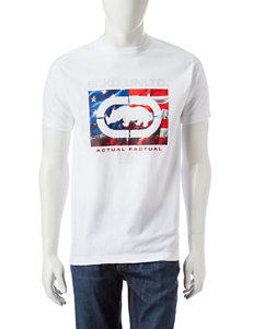 Ecko White Tees & Tanks