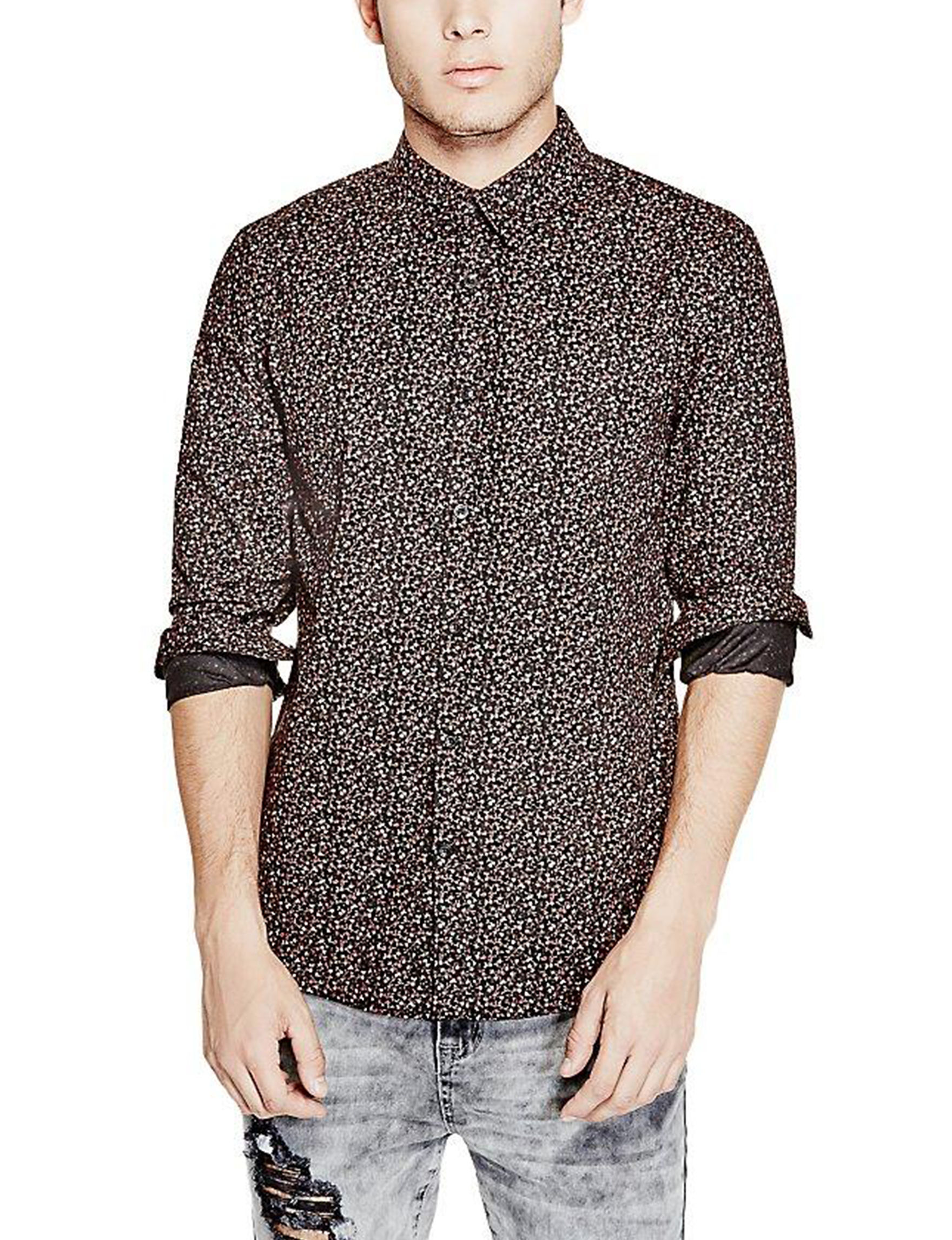 G by Guess Silver Casual Button Down Shirts