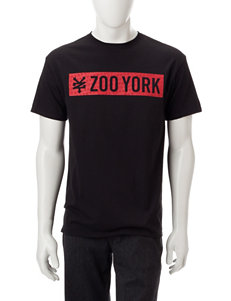 Zoo York Black Tees & Tanks