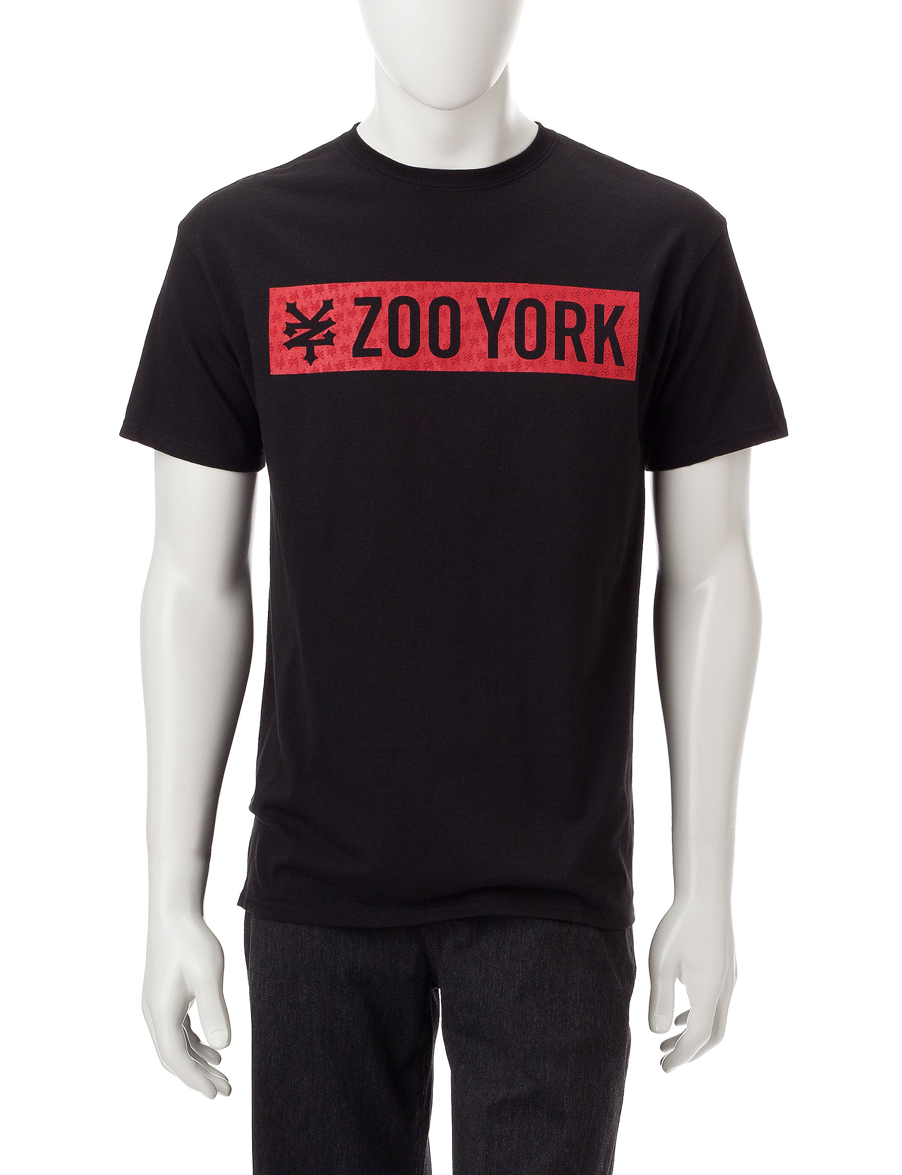 Zoo York Black Tees & Tanks