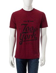 Zoo York Red Tees & Tanks