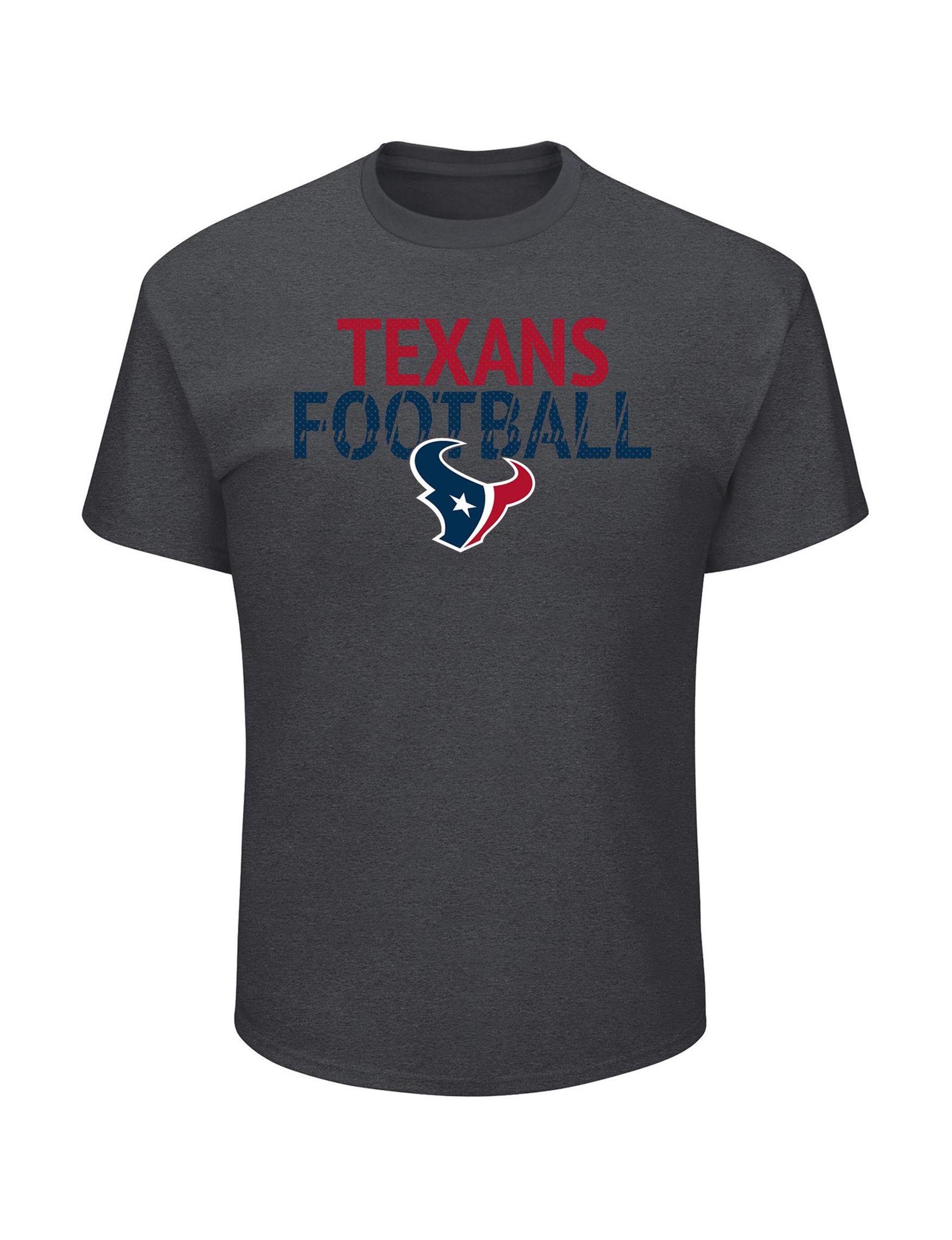 NFL Grey Tees & Tanks NFL