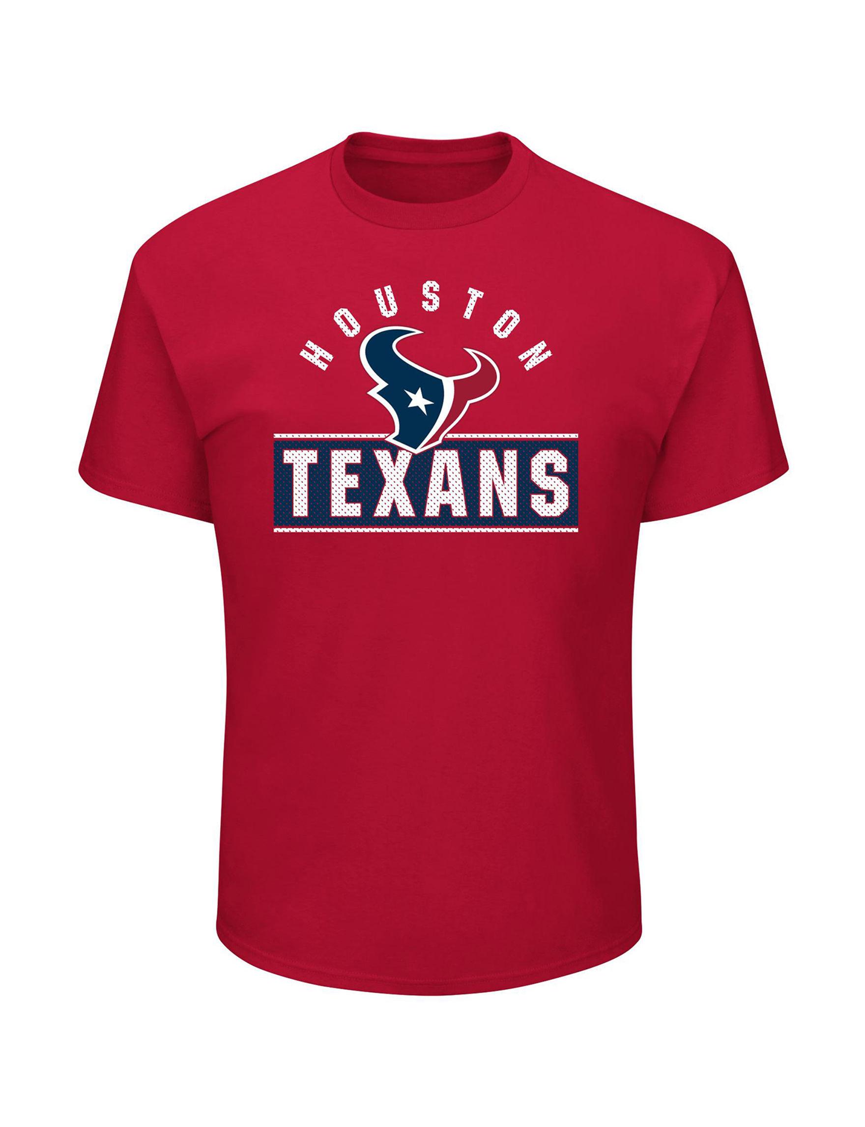NFL Red Tees & Tanks NFL