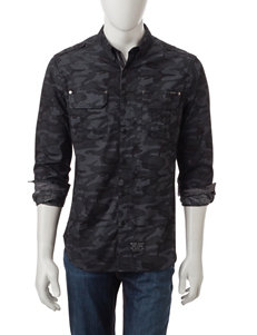 Marc Ecko Granite Casual Button Down Shirts