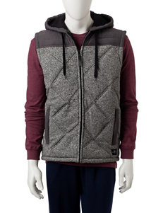 Marc Ecko Grey Vests