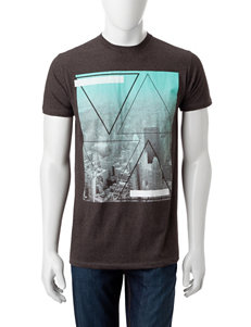Ocean Current Charcoal Tees & Tanks