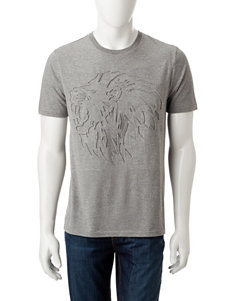 Embossed Lion T-shirt