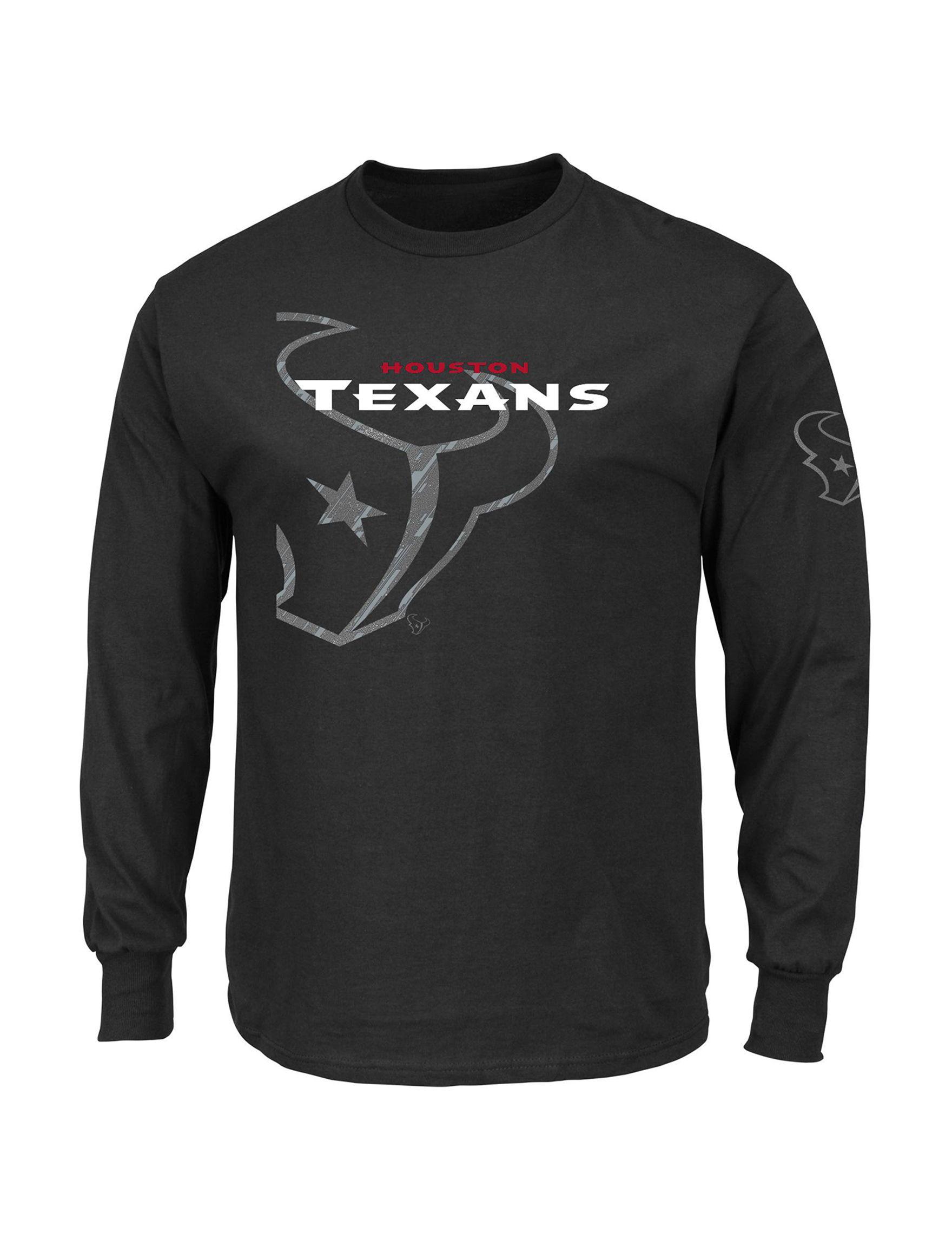 NFL Black Tees & Tanks NFL