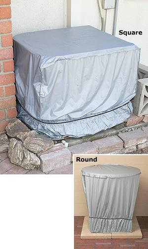 Outdoor A/C Unit Cover - Square