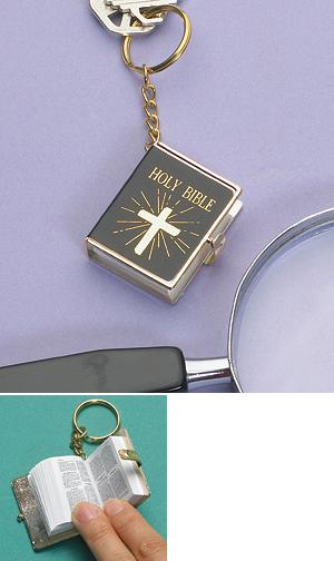 Mini Bible Key Chain
