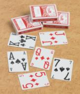 E-Z Read Playing Cards - 3 Decks