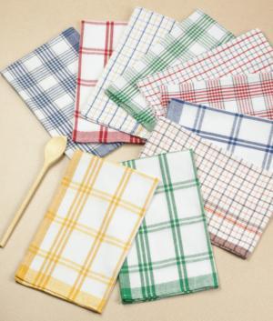 Cotton Kitchen Towels - Set of 10