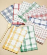 Cotton Kitchen Towels - Set of 10