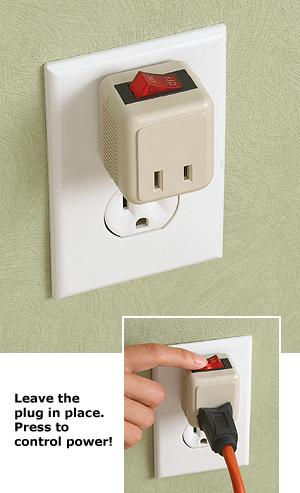 Power Switch Outlet Plug - Lighting and Outlets - All Around the ...
