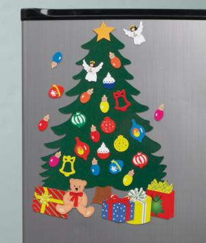 Christmas Tree Fridge Magnets - 31-Pc. Set