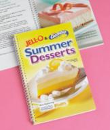Jell-O and Cool Whip Summer Desserts Cookbook