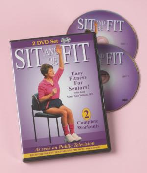 Sit and Be Fit - 2-DVD Set