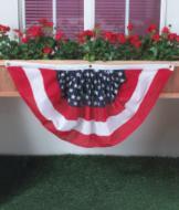 Pleated Fan Flag