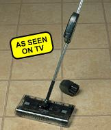 Cordless Powered Swivel Sweeper