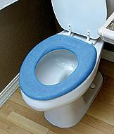 Terry Toilet Seat Cover