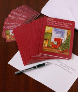 Christmas Cards with Recipes - Set of 20