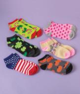 Holiday Sock Sets - 6 Pairs
