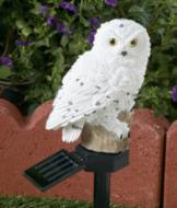 Snowy Owl Lawn Light