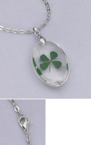 Four-Leaf Clover Pendant