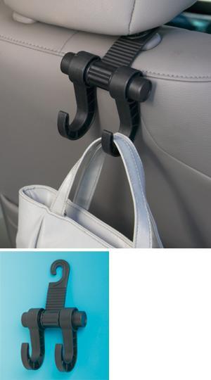 Double Headrest Hook