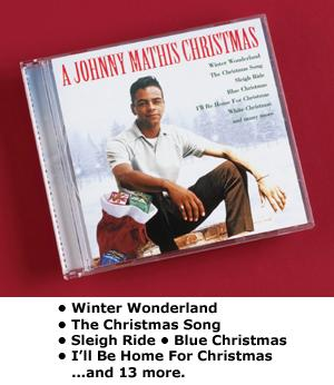 A Johnny Mathis Christmas CD