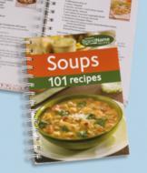 101 Soup Recipes Book