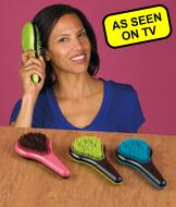 Professional Pink Detangling Brush - Fine Hair