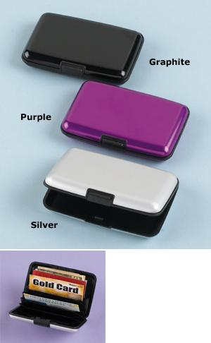 Aluminum Security Wallet - Each