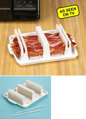 Bacon Wave Microwave Bacon Tray