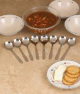 Classic Soupspoons - Set of 8