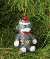 Sock Monkey Ornament Box