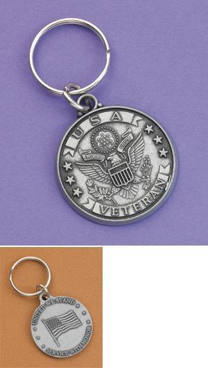 USA Veteran Key Ring