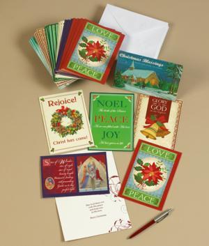 Religious Christmas Cards - Set of 36