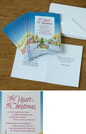 The Heart of Christmas Cards - Set of 18