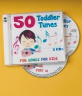 50 Toddler Tunes - 2-CD Set