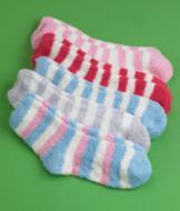 Striped Cozy Socks - 5 Pairs