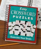 Easy Crossword Puzzles Book